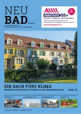 Neubadmagazin August 2019